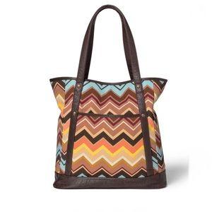 Missoni for Target Colore Zig Zag Tote Handbag